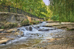 Landscape With River Royalty Free Stock Photos