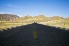 Landscape with a road Royalty Free Stock Photography
