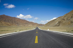 Landscape with a road Royalty Free Stock Images