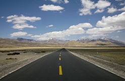 Landscape with a road Stock Photos