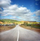 Landscape with road Royalty Free Stock Photography