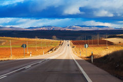 Landscape with road Royalty Free Stock Image