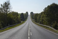Landscape with road Stock Image