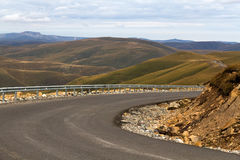 Mountain landscape road Royalty Free Stock Images