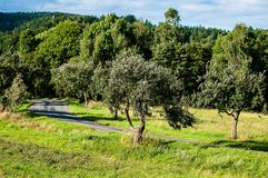 Landscape with road Stock Photo