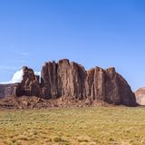 Landscape with rock in Monument Valley Royalty Free Stock Photo