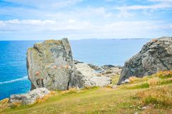 Landscape in Cornwall, England royalty free stock image