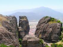 Landscape rocks, Meteora. Stock Photography