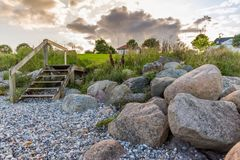 Landscape with rocks Royalty Free Stock Photos