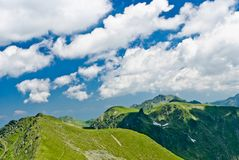 Fagaras mounrains Royalty Free Stock Photos