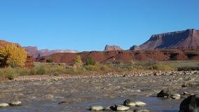 Landscape in Rocky Rapid stock video