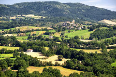 Landscape in Romagna (Italy) Royalty Free Stock Photo
