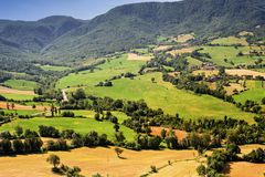 Landscape in Romagna (Italy) Royalty Free Stock Images