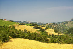 Landscape in Romagna (Italy) Royalty Free Stock Image
