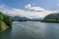 Landscape in Romania. In summer 2016 romania Stock Photo