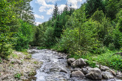 Landscape in Romania. In summer 2016 romania Royalty Free Stock Photo