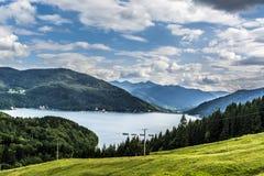 Landscape in Romania Stock Image