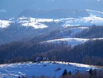 Landscape in Romania Royalty Free Stock Image