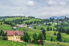 Landscape in Romaniaa. Landscape in Romania, in summer 2016 romania Royalty Free Stock Images