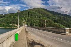 Landscape in Romaniaa. Landscape in Romania, in summer 2016 romania Stock Photo
