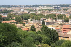 Landscape of Rome (Italy) Royalty Free Stock Image