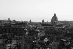 Landscape of rome Royalty Free Stock Photography