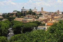 Landscape of Rome Royalty Free Stock Photos