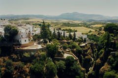 Landscape in Ronda, Spain Royalty Free Stock Photography