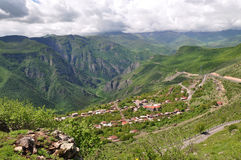 Landscape from ropeway to Tatev, Armenia. Stock Photography