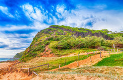 Landscape of Royal National Park, Australia Royalty Free Stock Photos
