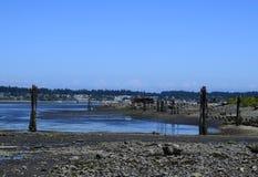 Royston shipwreck site, Vancouver Island Royalty Free Stock Photo