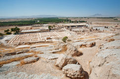 Landscape with ruins of Persepolis city Stock Photography