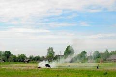 A landscape of rural Stock Image