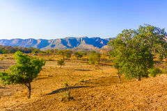 Landscape in the rural area in Ethiopia Stock Photo