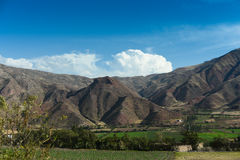 Landscape - rural Peru Stock Images