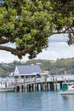 Landscape from Russell near Paihia, Bay of Islands, New Zealand Royalty Free Stock Image