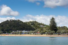 Landscape from Russell near Paihia, Bay of Islands, New Zealand Stock Images