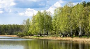 Landscape russian Royalty Free Stock Image