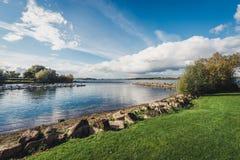 Landscape of Rutland Water Park, England. Rutland Water Park in England royalty free stock photos