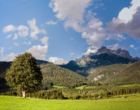 austrian countryside landscape Royalty Free Stock Image