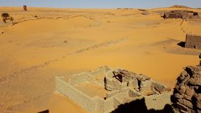 Landscape of sahara algeria royalty free stock photos