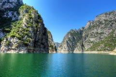 Landscape of Sahinkaya Canyon in Vezirkopru, Samsun stock photo
