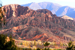 Landscape in Salta Royalty Free Stock Photography