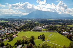 Landscape of Salzburg Royalty Free Stock Images