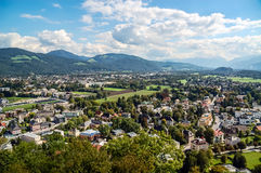 Landscape of Salzburg Royalty Free Stock Photos