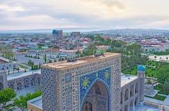 The landscape of Samarkand Royalty Free Stock Photo