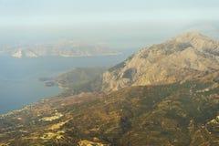 Landscape on Samos Royalty Free Stock Photos