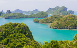 Landscape at samui island Royalty Free Stock Photos