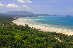 Landscape of Samui island Stock Photography