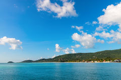 Landscape of  Samui island in Thailand Royalty Free Stock Photo